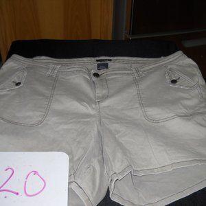 2/$30 or 3/$36    *TORRID* Military Shorts